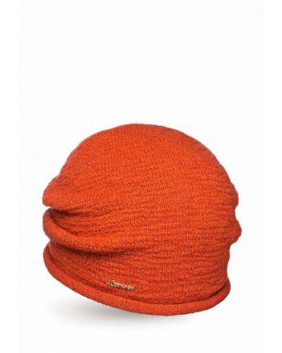 Оранжевая шапка осенняя Canoe