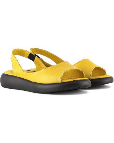 Босоножки - желтые Phany