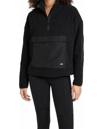 Пуловер - черный Alo Yoga