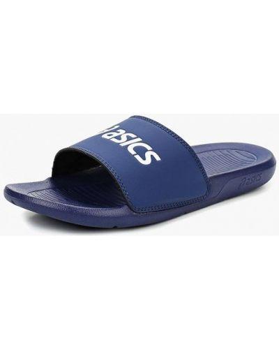 Пляжные шлепанцы синий Asics