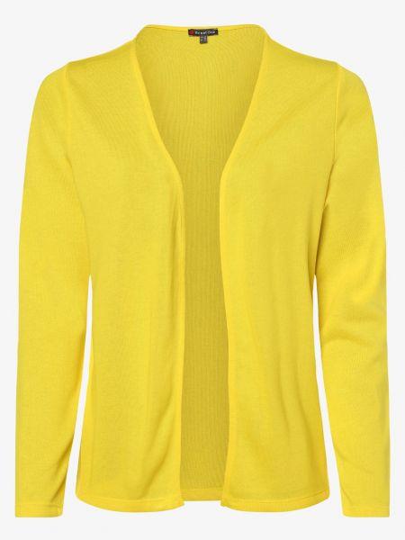 Żółty garnitur na co dzień dzianinowy Street One