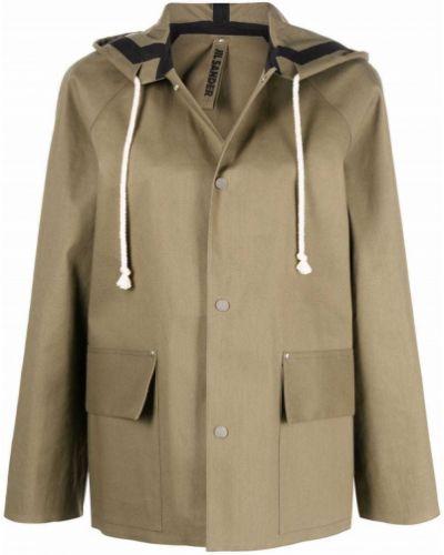 Płaszcz przeciwdeszczowy - beżowy Jil Sander