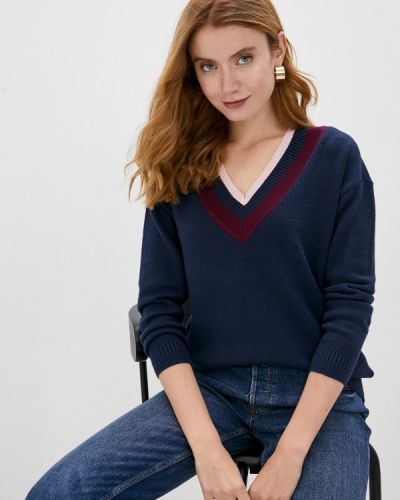 Синий пуловер Marks & Spencer
