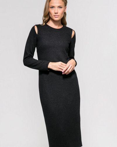 Платье осеннее черное Yulia'sway