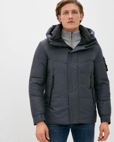 Утепленная серая куртка Qwentiny