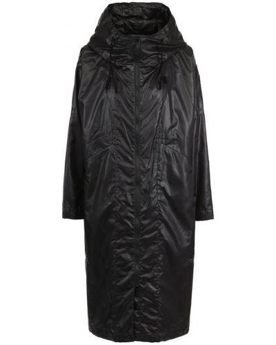 Пальто с капюшоном свободное на молнии Yohji Yamamoto