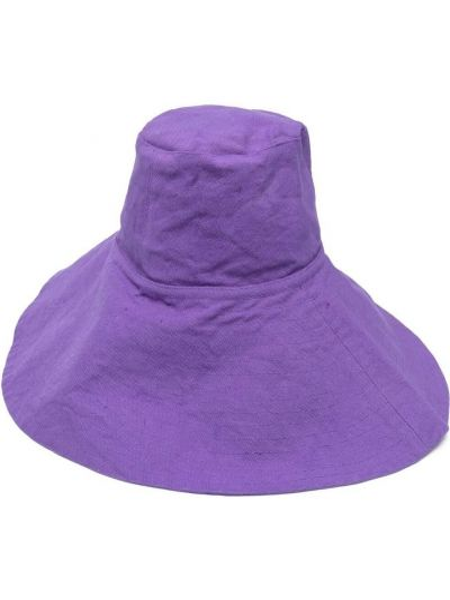Ватная хлопковая фиолетовая шапка Forte Forte
