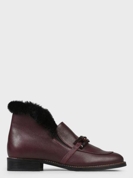 Кожаные ботинки - красные Helena Soretti