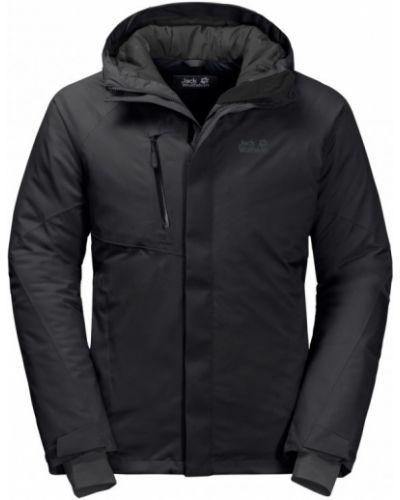 Куртка - черная Jack Wolfskin