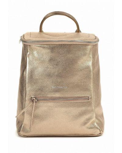 Рюкзак городской золотого цвета Dominico Rubi