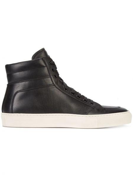 Черные высокие кроссовки Koio