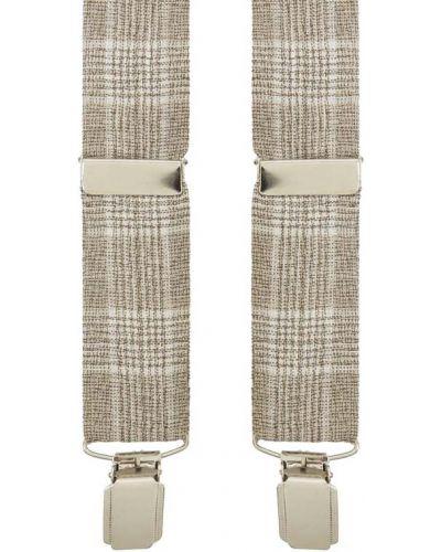 Beżowe szelki wełniane Atelier Torino