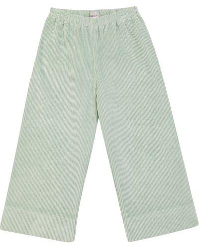Зеленые брюки вельветовые Il Gufo