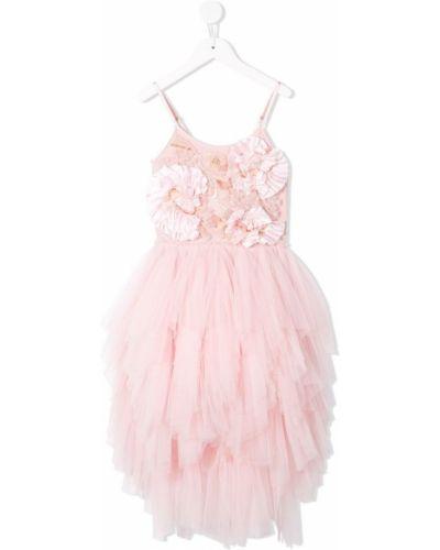 Платье зимний розовый Tutu Du Monde