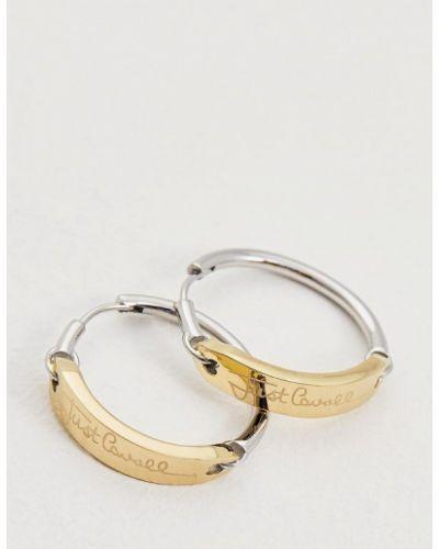 Серьги-кольца Just Cavalli