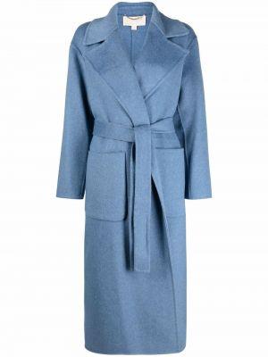Синее пальто с воротником Michael Michael Kors