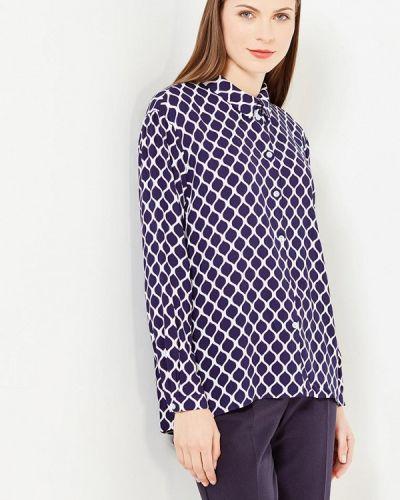 Блузка с длинным рукавом синяя Nevis