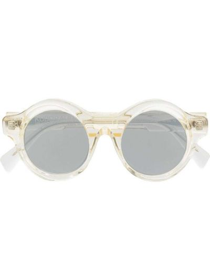 Солнцезащитные очки прозрачные - серые Kuboraum