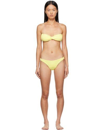 Żółty bikini Hunza G