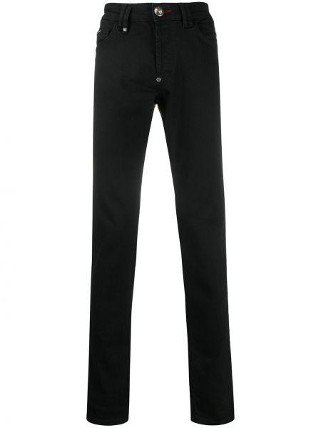 Obcisłe dżinsy z kieszeniami dżinsowa Philipp Plein