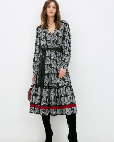 Прямое серое платье Silvian Heach