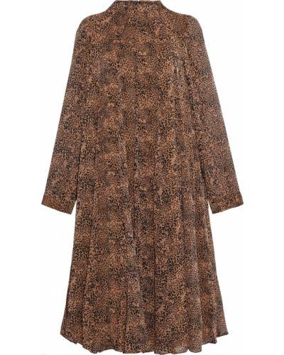 Платье с подкладкой на пуговицах с манжетами Mikael Aghal