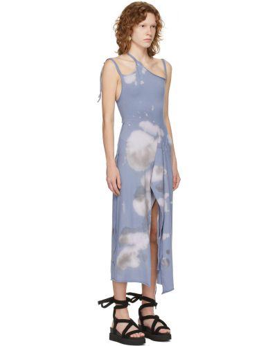 Niebieska sukienka bawełniana Ottolinger