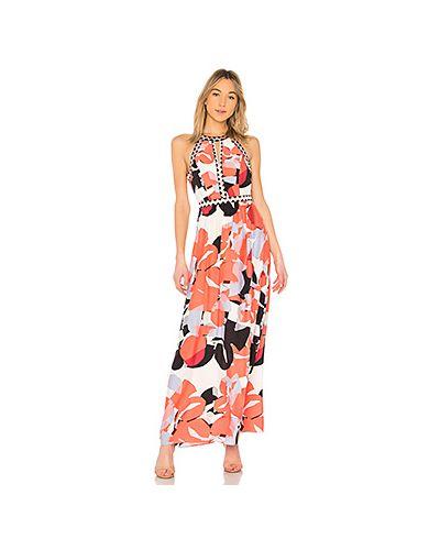 Платье розовое на молнии Parker