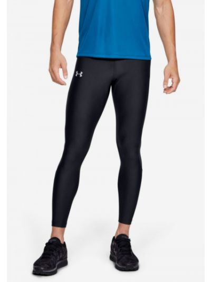 Czarne legginsy materiałowe z siateczką Under Armour