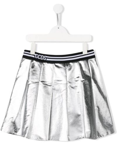 Серебряная юбка Gcds Kids