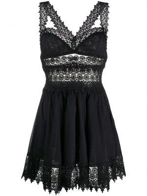 Кружевное платье - черное Charo Ruiz Ibiza