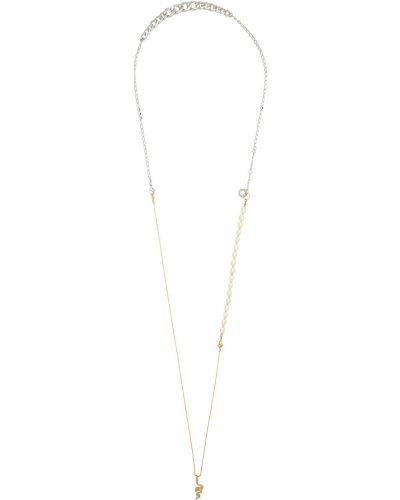 Ожерелье длинное золотое Bless