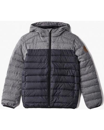 Куртка теплая черная Quiksilver