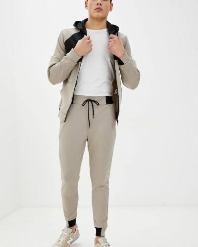 Костюмный бежевый спортивный костюм Aarhon