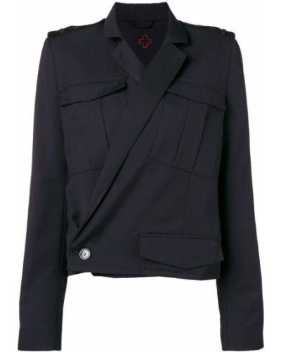 Черный пиджак на пуговицах A.f.vandevorst