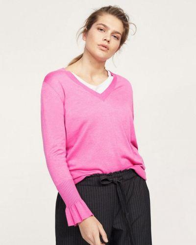 Розовый джемпер Violeta By Mango