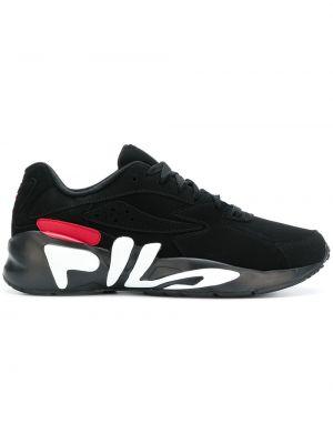 Кроссовки на шнуровке - белые Fila