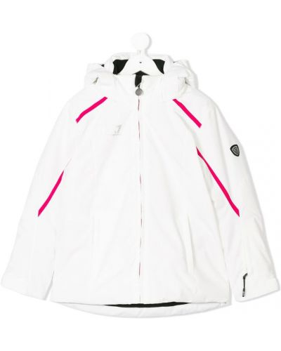 Куртка белая Ea7 Kids