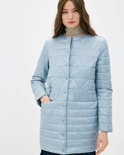 Утепленная куртка - голубая снежная королева