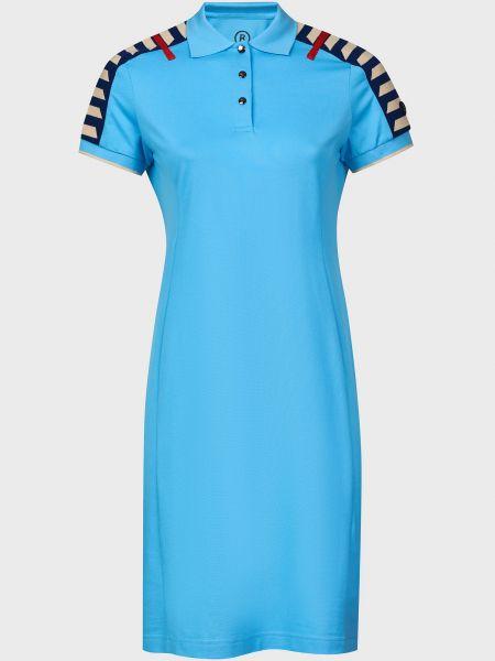 Хлопковое платье - голубое Bogner