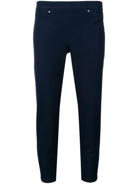 Укороченные брюки - синие Max & Moi