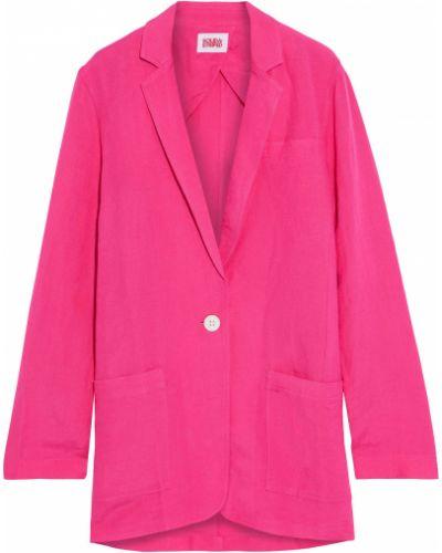 Льняной блейзер - розовый Solid & Striped