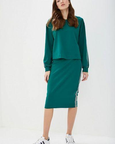 Юбочный костюм зеленый Elena Kulikova