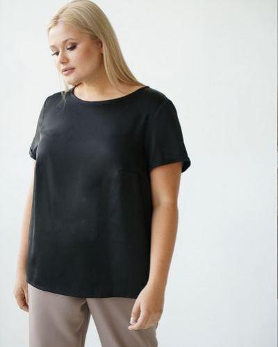 Повседневная шелковая футболка оверсайз Vovk