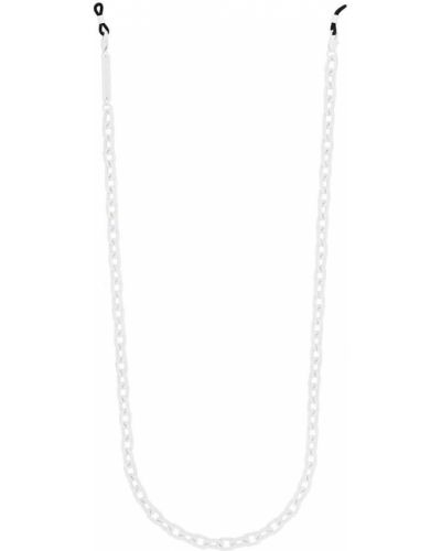 Белая цепочка металлическая Frame Chain