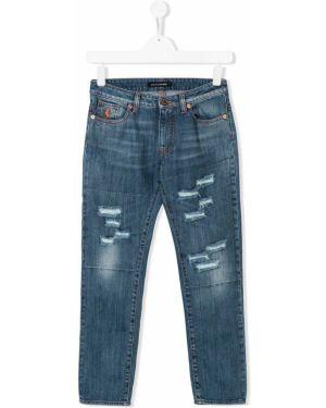Синие джинсы European Culture Kids