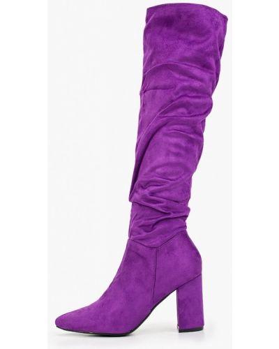Ботинки на каблуке осенние замшевые Bellamica