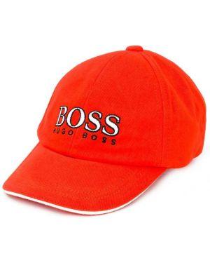 Czapka z logo elastyczny Boss Kids