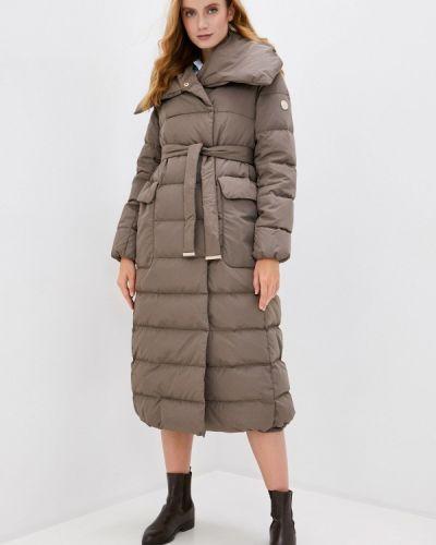Коричневая зимняя куртка Madzerini