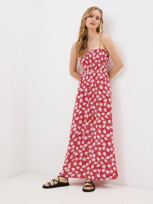 Красный сарафан Only